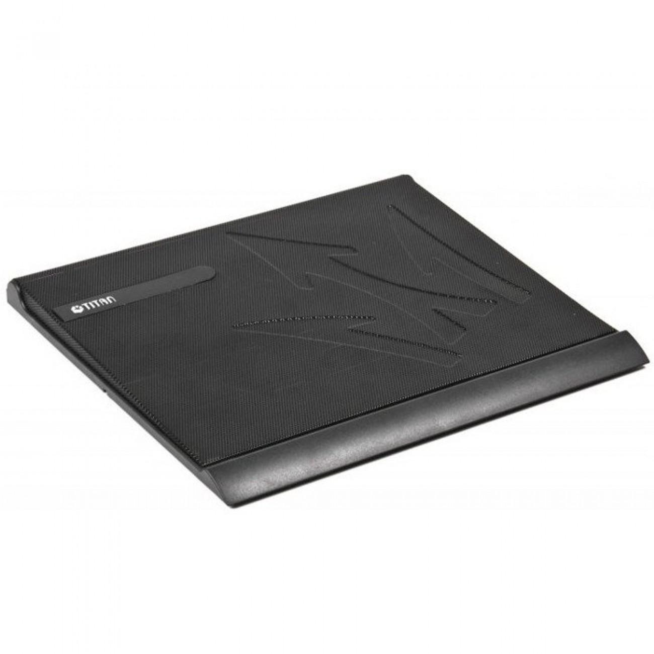Охлаждаща поставка за лаптоп Titan TTC-G22T, за лаптопи до 15 (38.1 cm), черна в Лаптоп Охладители -  | Alleop