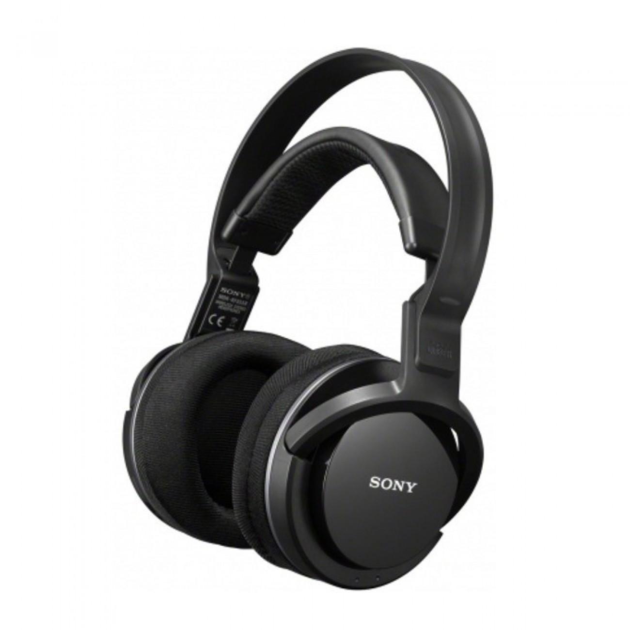 Слушалки Sony MDR-RF855RK, безжични, черен в Слушалки -  | Alleop