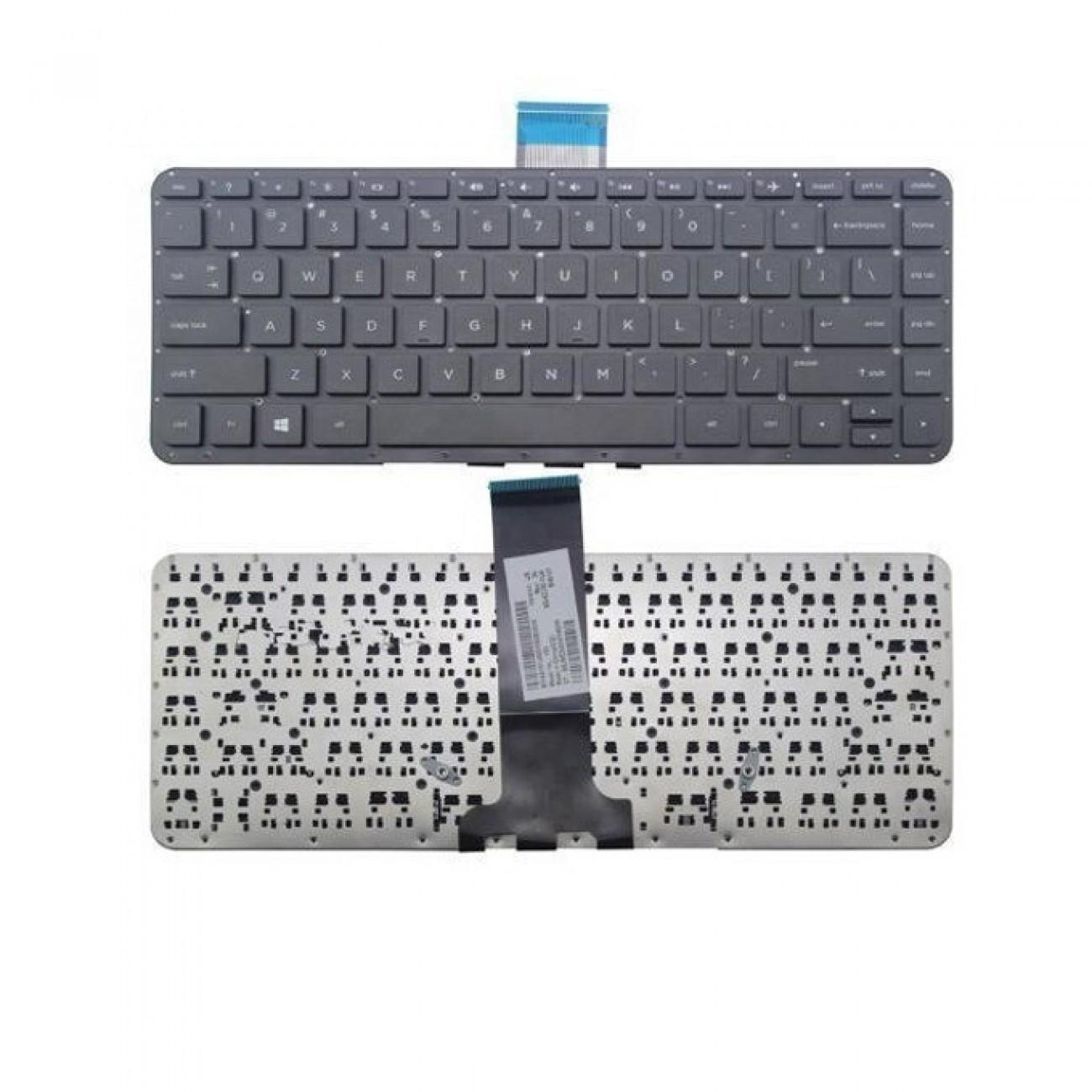 Клавиатура за HP Envy 14-U, US, черна в Резервни части -  | Alleop