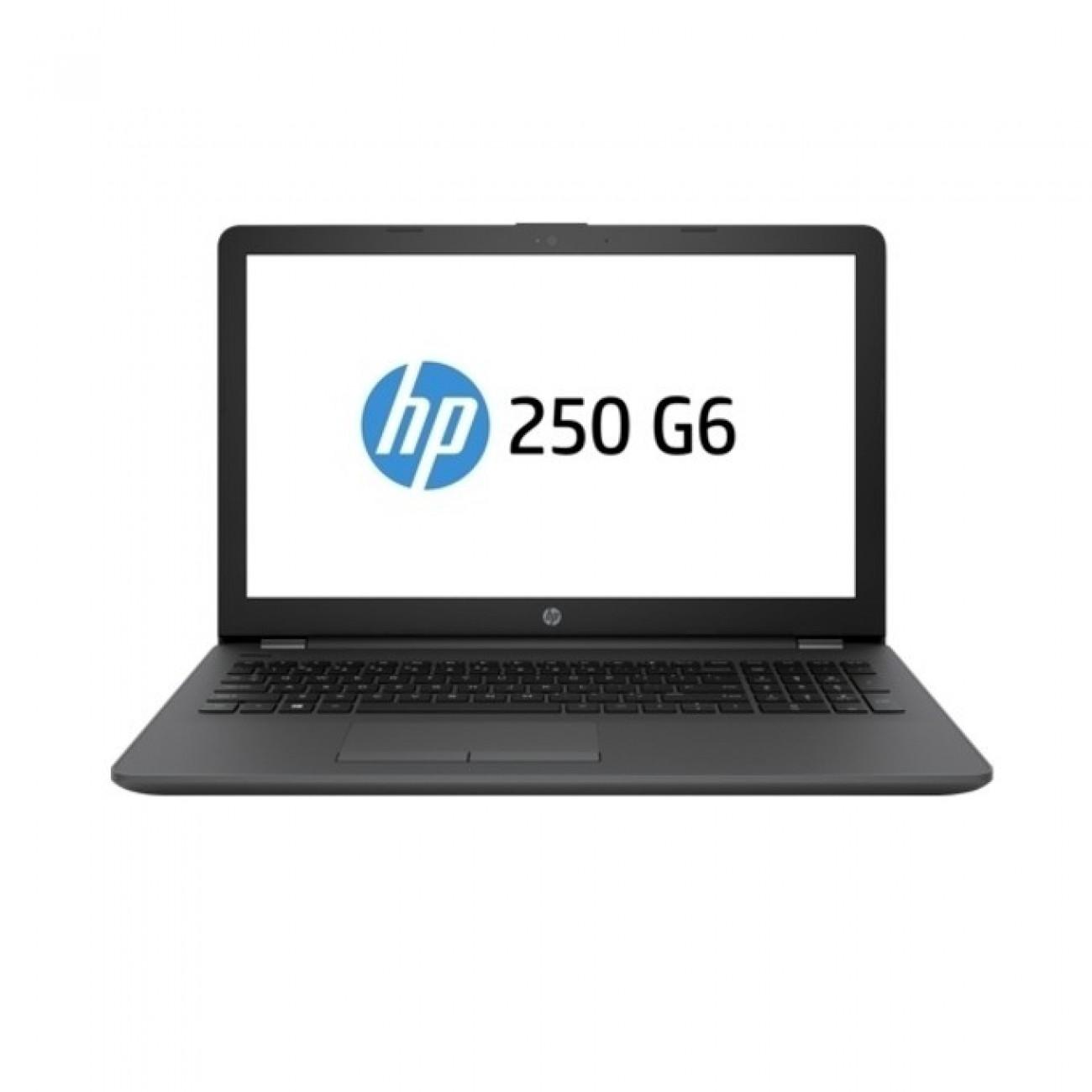 Лаптоп HP 250 G6 (4LT72ES)(сив), двуядрен Kaby Lake Intel Core i3-7020U 2.3 GHz, 15.6(39.62 cm) Full HD Anti-Glare Display&AMD Radeon 520 2GB(HDMI), 8GB DDR4, 1TB HDD, Free DOS, 1.86 kg в Лаптопи -  | Alleop