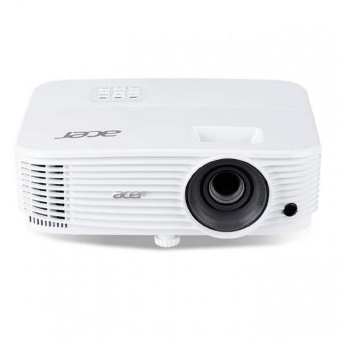 Проектор Acer P1250B, MR.JPP11.001, DLP, XGA(1024x768), 20000:1, 3600 lm, HDMI, HDMI/MHL, VGA, RCA, USB, RJ-45, бял в Проектори -  | Alleop
