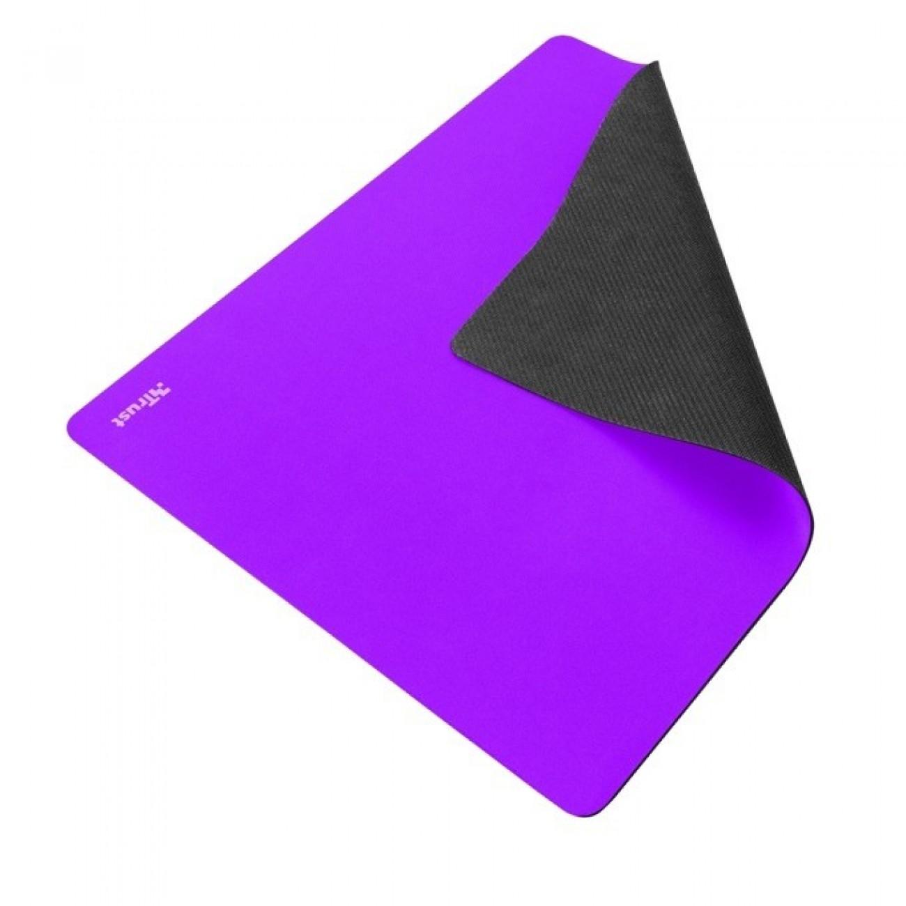 Подложка за мишка Trust Primo Mouse pad, лилав, 250x210x3mm в Подложки за мишки -  | Alleop