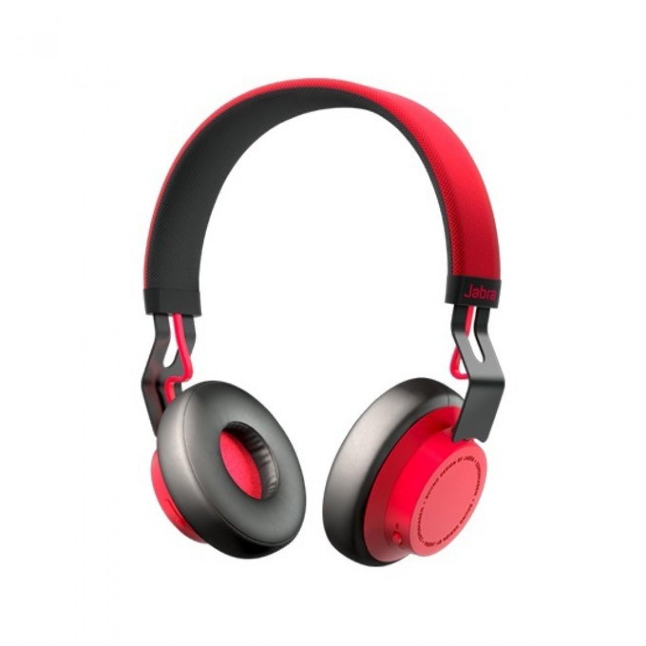 Слушалки, Блутут слушалки, Jabra, Move Coal, добро качество на звука с дълбок бас, Червени в Bluetooth аксесоари и Handsfree -  | Alleop