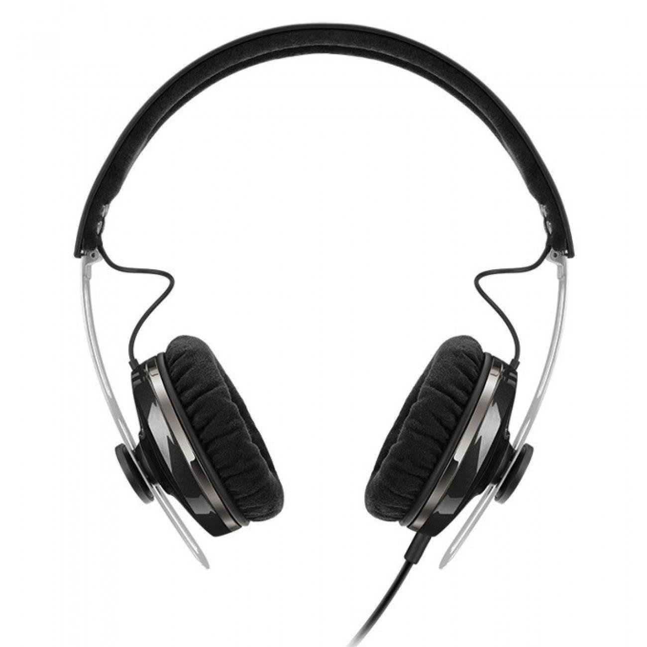 Слушалки Sennheiser Momentum On-Ear G (M2 OEG), микрофон, 16Hz-22kНz честотен диапазон, 1.4 м кабел, черни в Слушалки -  | Alleop