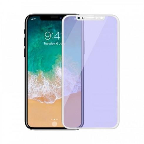 Протектор от закалено стъкло /Tempered Glass/ Remax Four Beasts, за Apple iPhone X, смартфон, бял в Защитно фолио -  | Alleop
