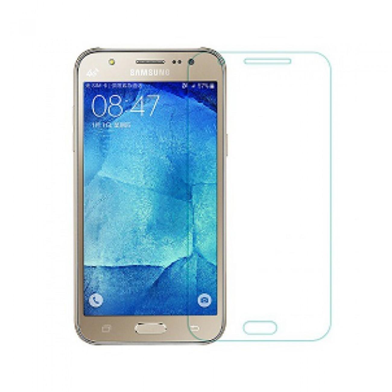 Протектор от закалено стъкло /Tempered Glass/ DeTech за Samsung Galaxy J5 2016 в Защитно фолио -  | Alleop