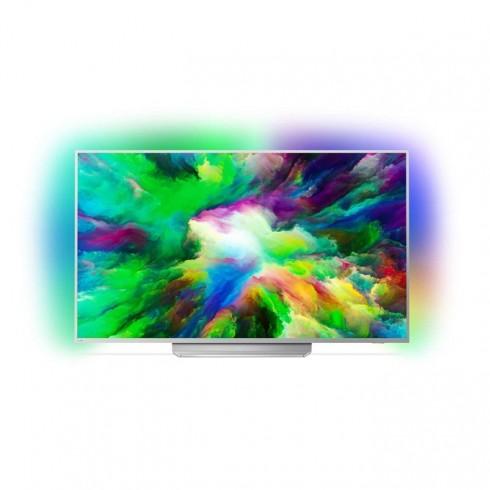 Телевизор Philips 65PUS7803/12, 65 (165.1 cm) 4K UHD Smart TV, DVB-T2/C/S2, LAN, Wi-Fi, 4x HDMI, 2x USB, Android в Телевизори -  | Alleop