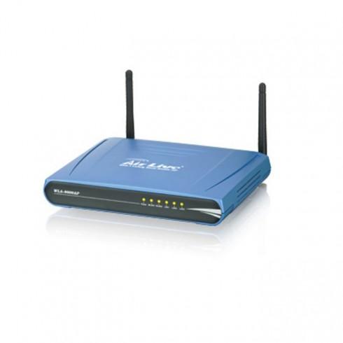 Access point/Аксес пойнт AirLive WLA-9000AP, 2.4GHz(100Mbps)/5GHz(100 Mbps), 3x LAN100, PoE, 2x 2dBi външни сваляеми антени в Аксеспойнт / Рипийтър -  | Alleop