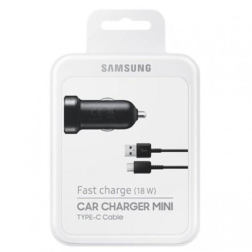 Зарядно за кола Samsung EP-LN930CBEGWW, от авт. запалка към USB Type-C, Fast Charging 9V, черно в Перални и Сушилни -  | Alleop