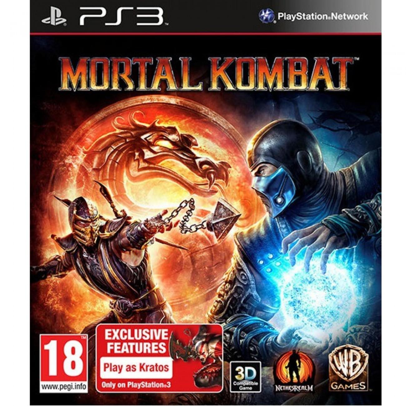 Mortal Kombat (3D съвместимост), за PlayStation 3 в Игри за Конзоли -  | Alleop