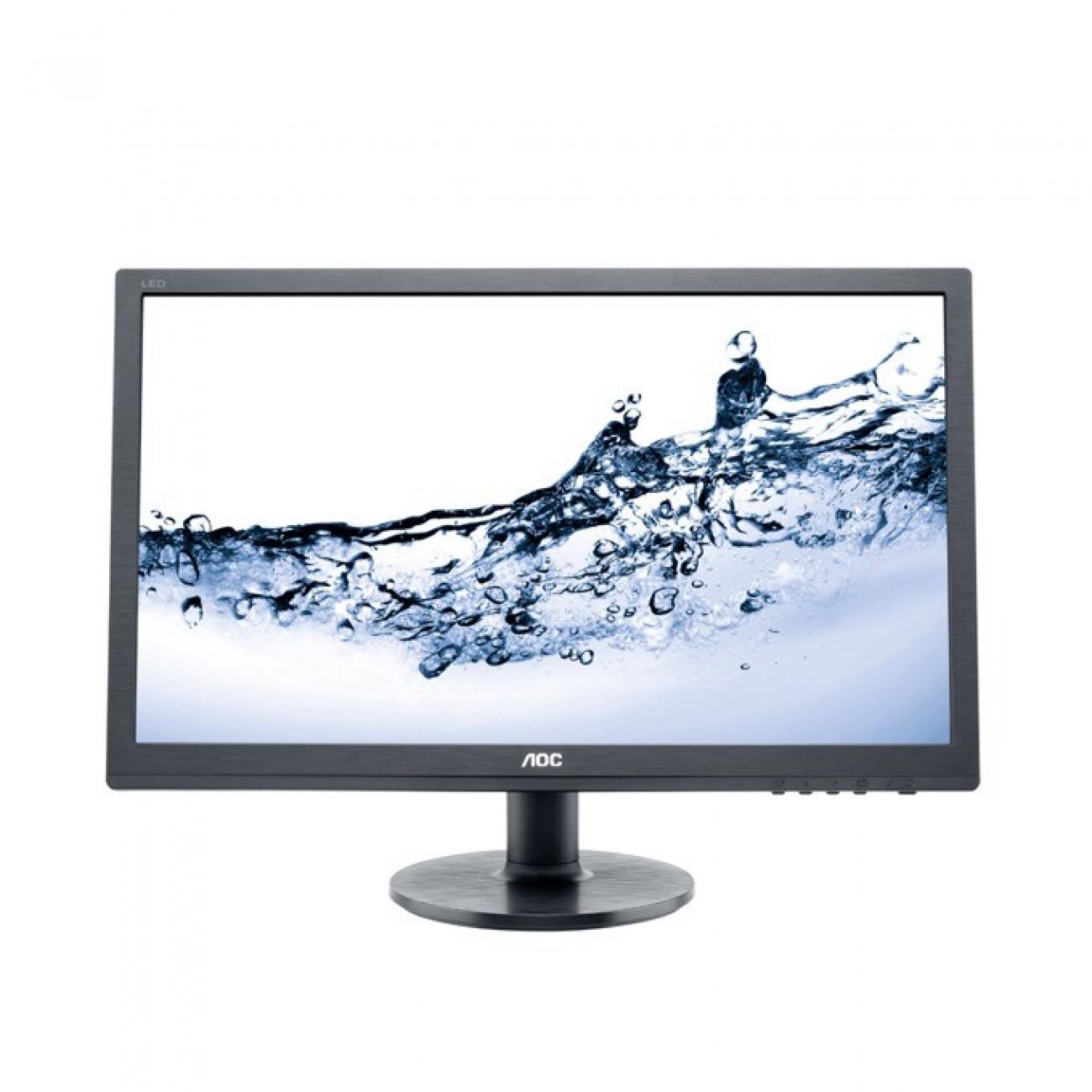 Монитор 24 (60.96cm) AOC e2460Sh, 1ms, 20 000 000:1, 250cd/m2, HDMI & DVI в Монитори -  | Alleop
