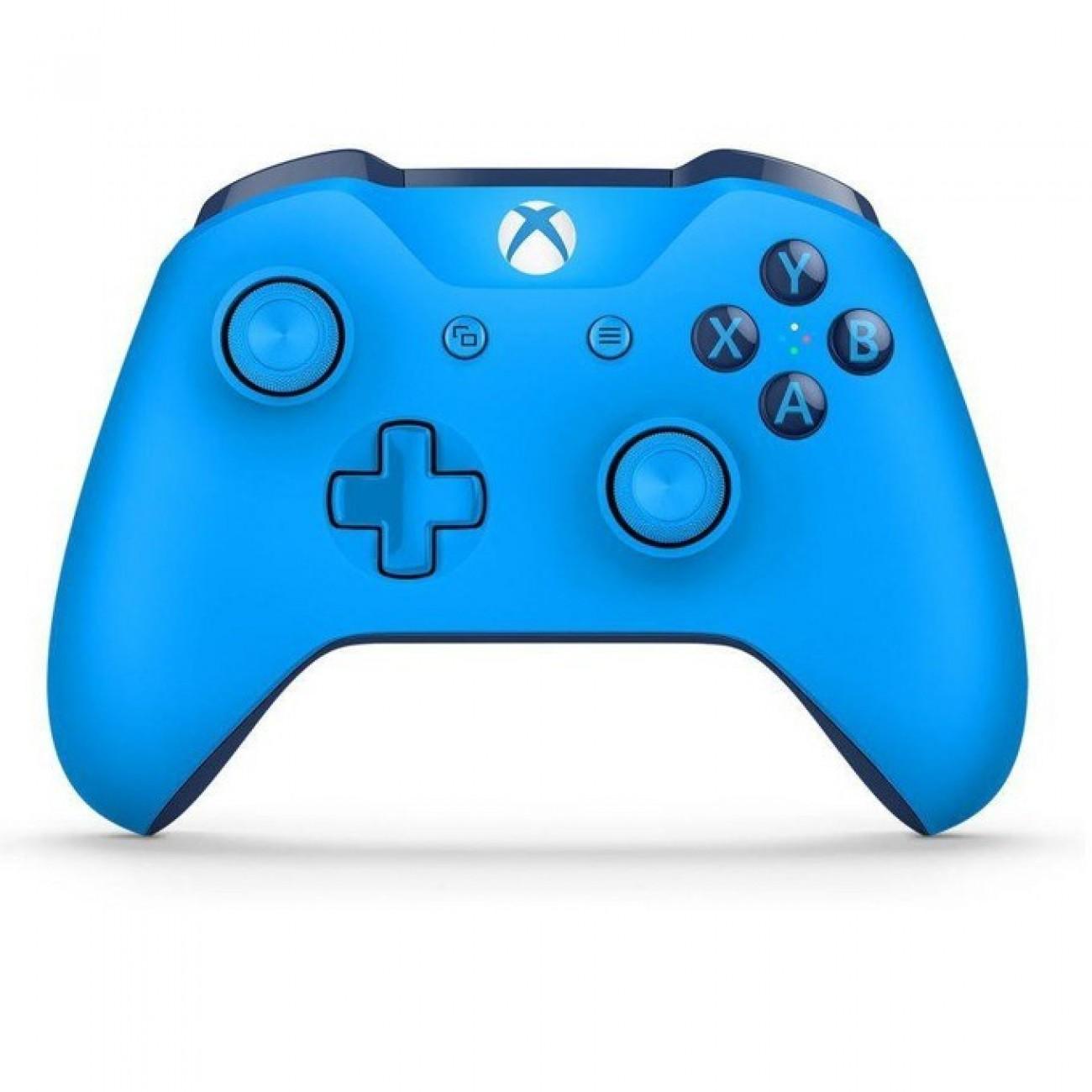 Геймпад Microsoft Xbox One, безжичен, USB, Xbox One, син в Геймпади, Волани, Джойстици -    Alleop