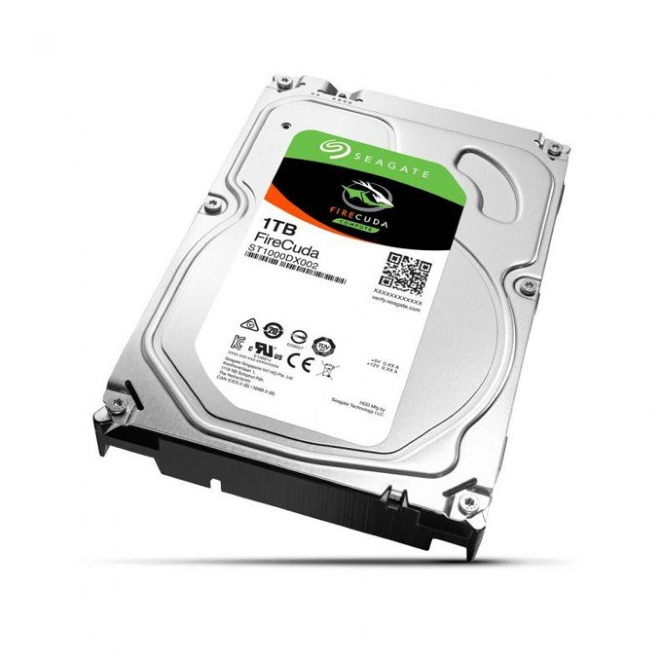 1TB Seagate FireCuda SSHD, 8GB MLC, SATA 6Gb/s, 7200rpm, 64MB, 3.5(8.89 cm) в Твърди дискове Вътрешни -  | Alleop