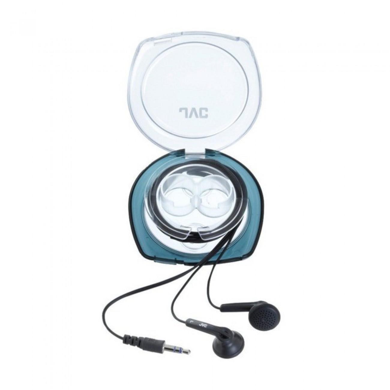 Слушалки JVC HA-F10C, тип тапи, мощен бас, 1.2м кабел, черни в Слушалки -  | Alleop