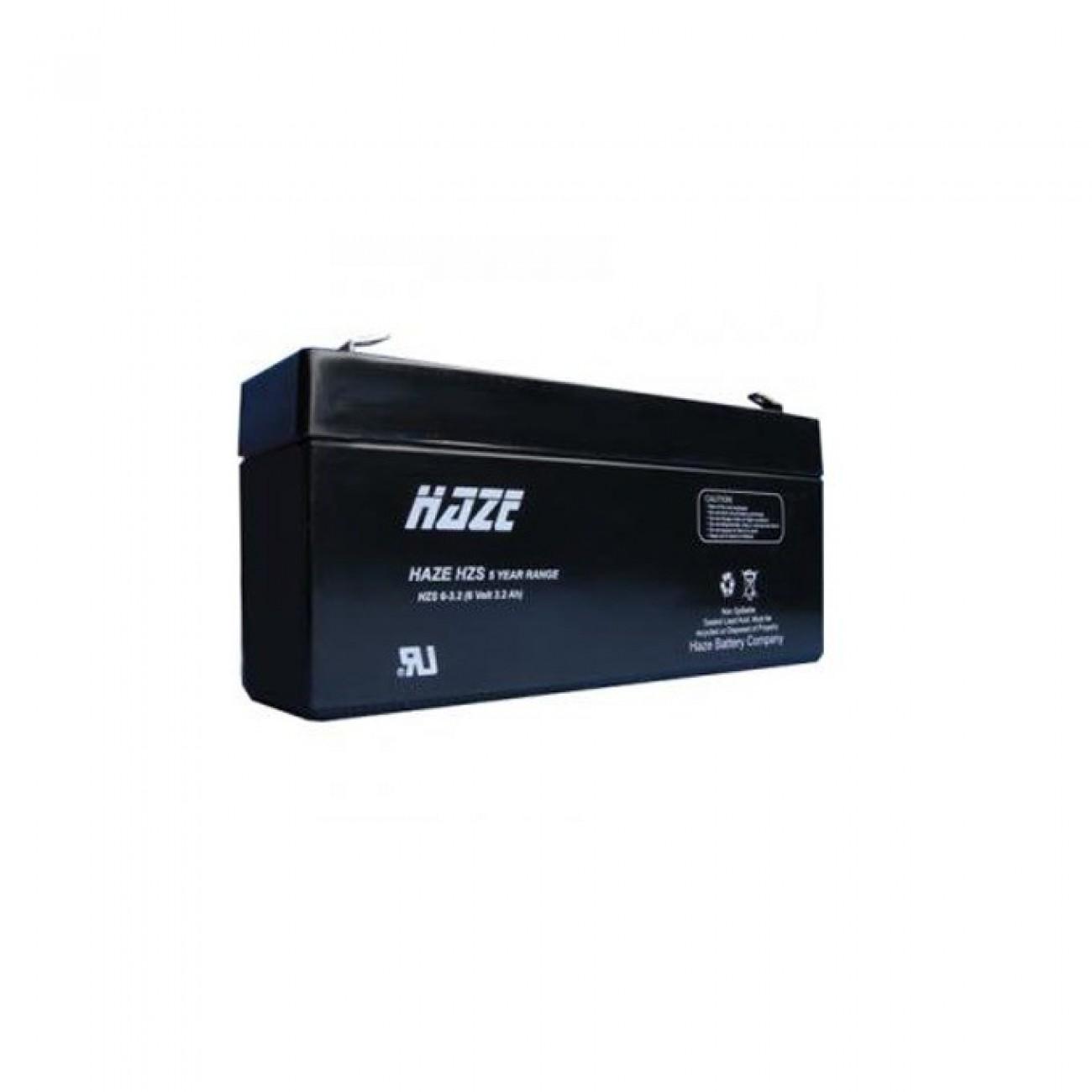 Акумулаторна батерия Haze (HZS6-3.2) 6V, 3.2Ah, AGM в Акумулатори -  | Alleop