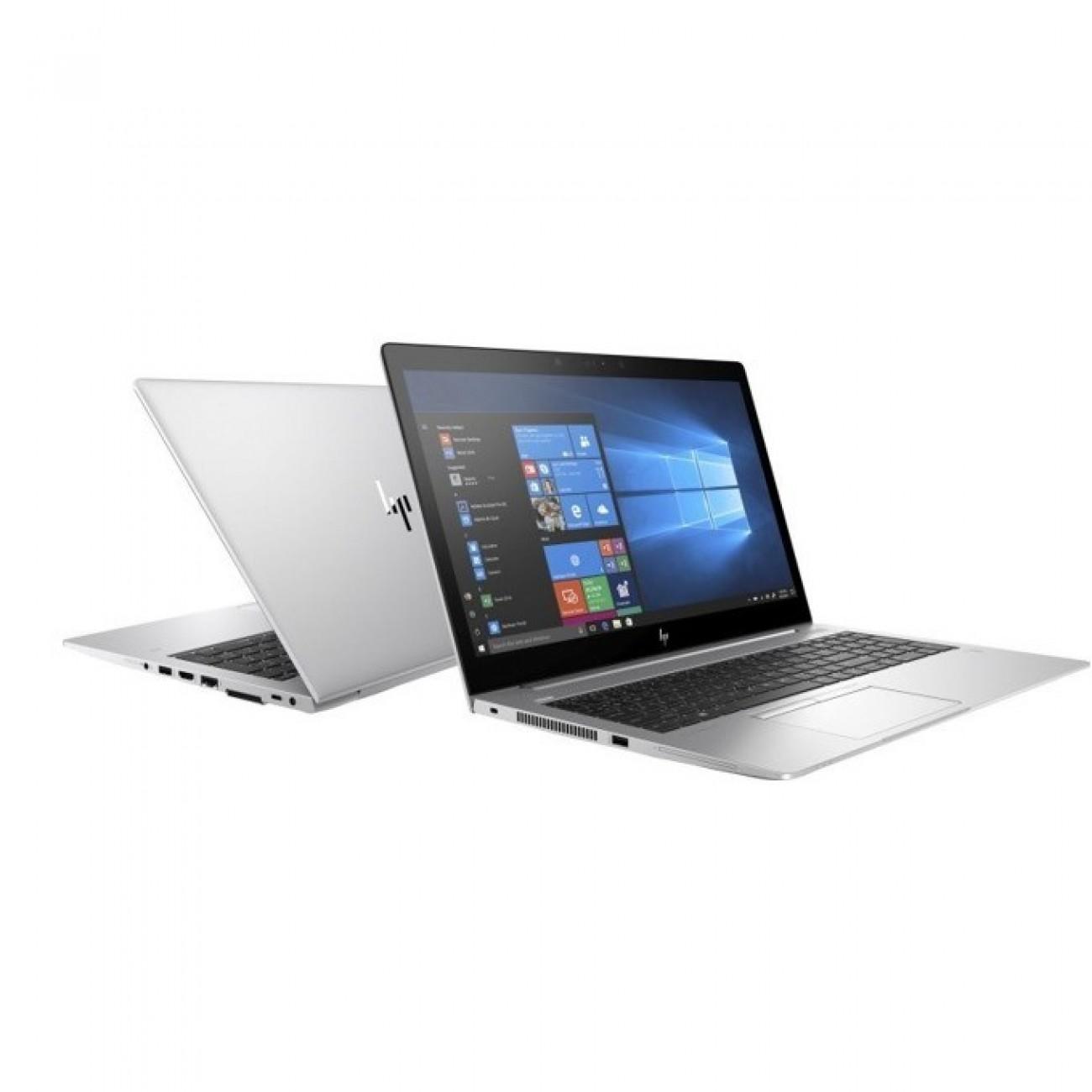 Лаптоп HP EliteBook 850 G5 (3JX19EA)(сребрист), четириядрен Kaby Lake R Intel Core i7-8550U 1.8/4.0 GHz, 15.6 (39.62 cm) Full HD IPS UWVA Anti-Glare Display, (HDMI), 8GB DDR4, 256GB SSD, Thunderbolt, Windows 10, 1.93 kg в Лаптопи -  | Alleop