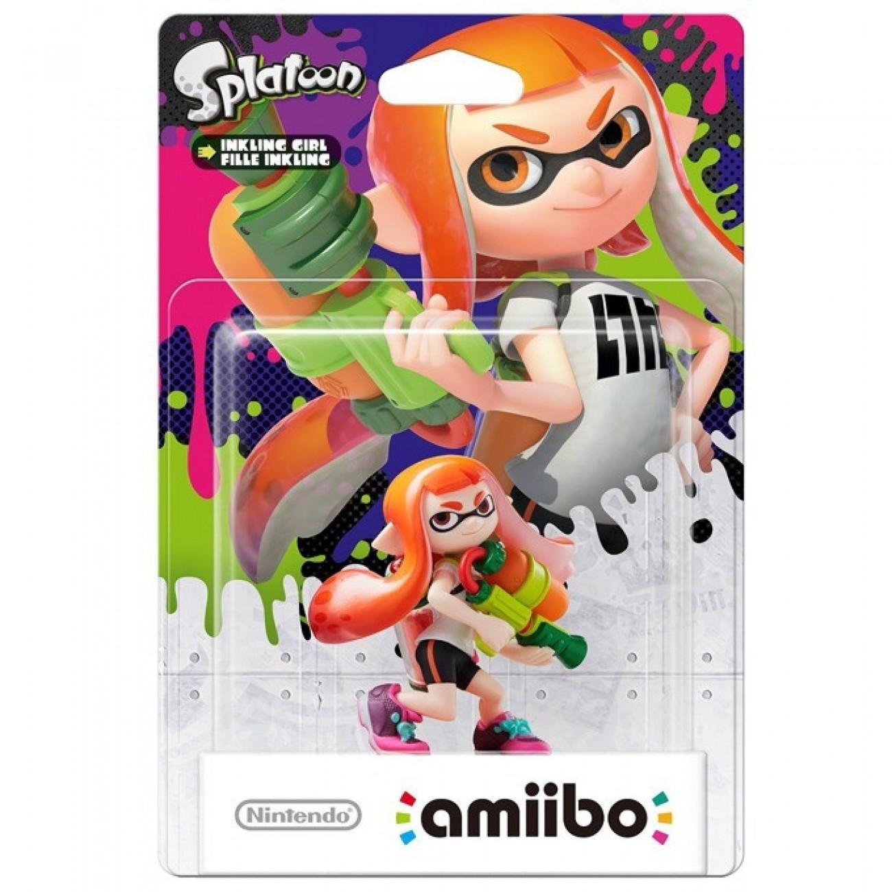 Nintendo Amiibo - Inkling Girl (Splatoon), за Nintendo 3DS/2DS, Wii U в Аксесоари за Конзоли -  | Alleop