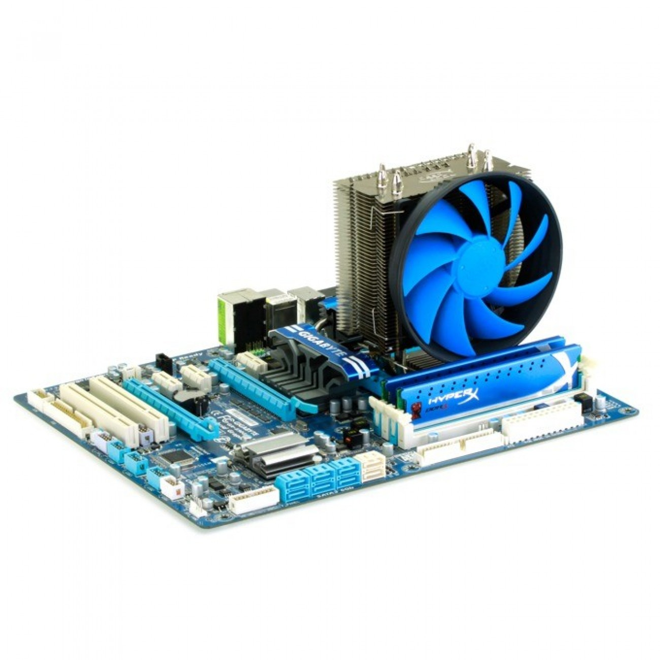 DeepCool GAMMAXX S40 за Intel и AMD процесори LGA2011/LGA1366/LGA1156/LGA1155/LGA1150/LGA775 & FM2/FM1/AM3+/AM3/AM2+/AM2/AMD K8 в Процесори Охладители -    Alleop