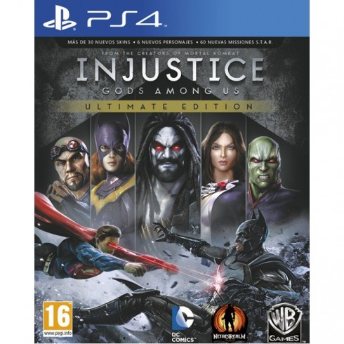 Injustice: Gods Among Us Ultimate Edition, за PlayStation 4 в Игри за Конзоли -  | Alleop