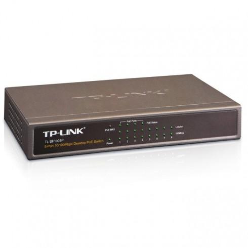 Switch TP-Link TL-SF1008P, 10/100Mbs 8Port, PoE в Суич -  | Alleop
