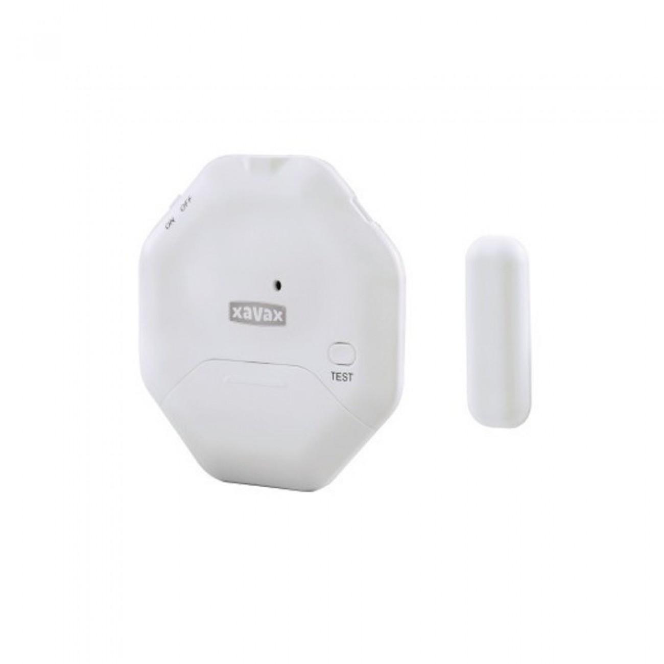 Сензор Xavax 111985, за врата/прозорец, плосък, тънък дизайн, 95 децибела в Друга Електроника за дома -  | Alleop