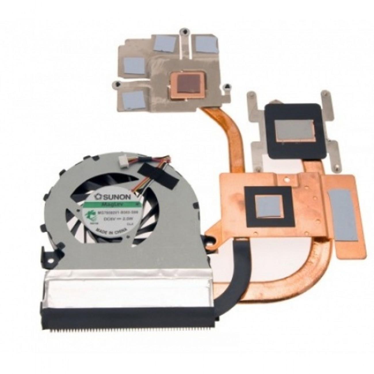 Вентилатор за лаптоп, съвместим с Acer Aspire 5553G + Video в Резервни части -  | Alleop