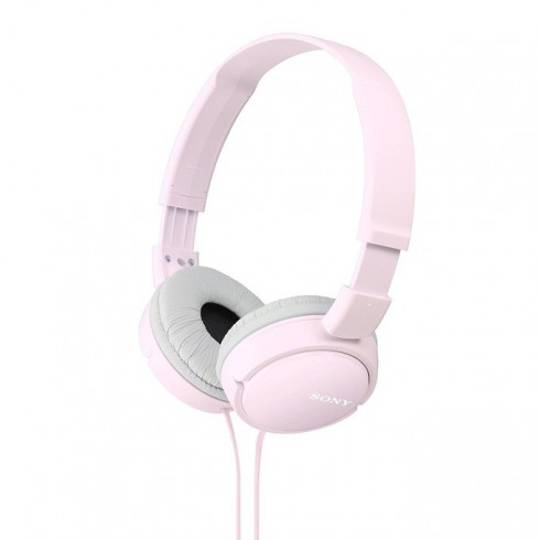 Слушалки Sony MDR-ZX100AP, розов в Слушалки -  | Alleop