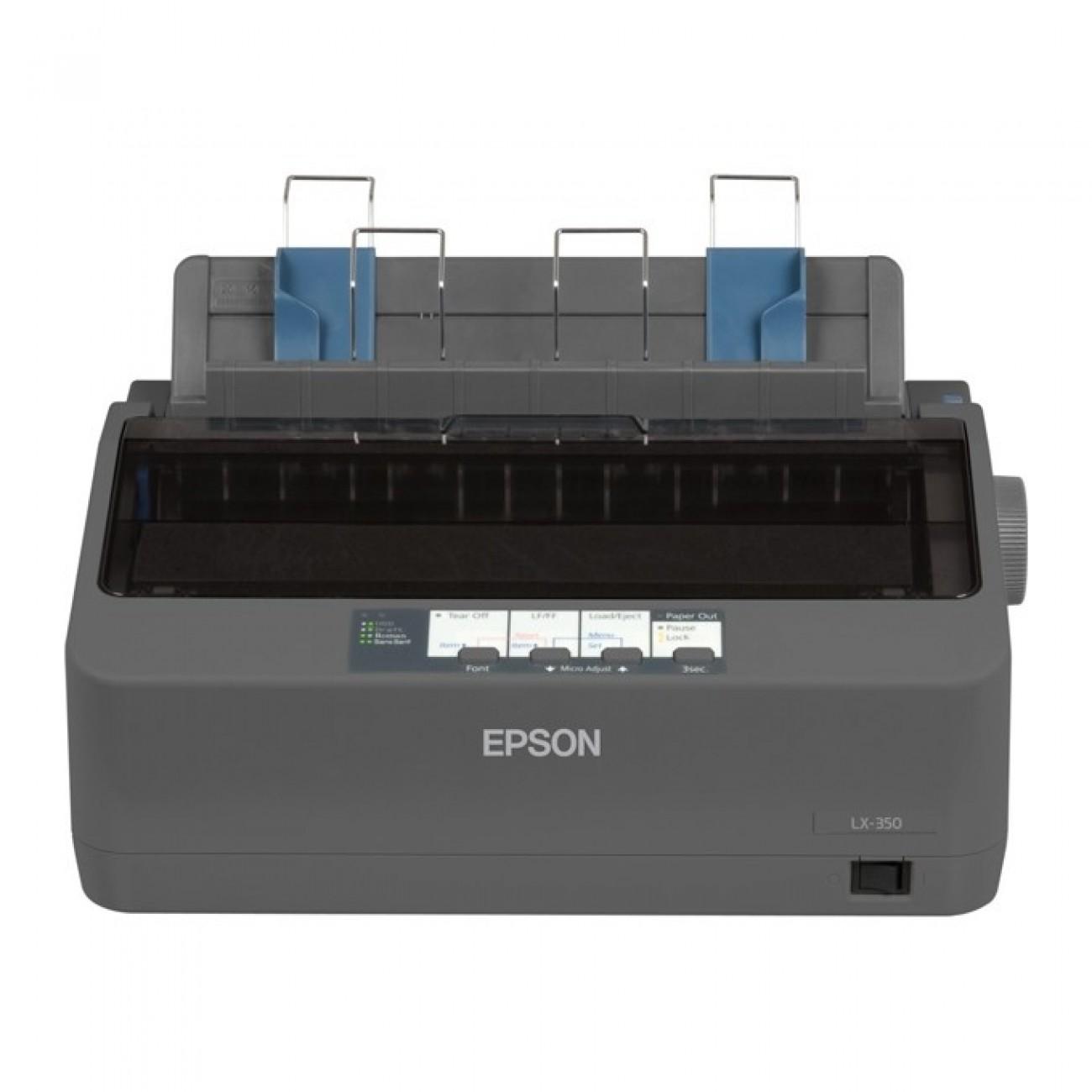 Матричен принтер Epson LX-350, 9pin/80col/357cps, Parallel & USB в Стативи -  | Alleop