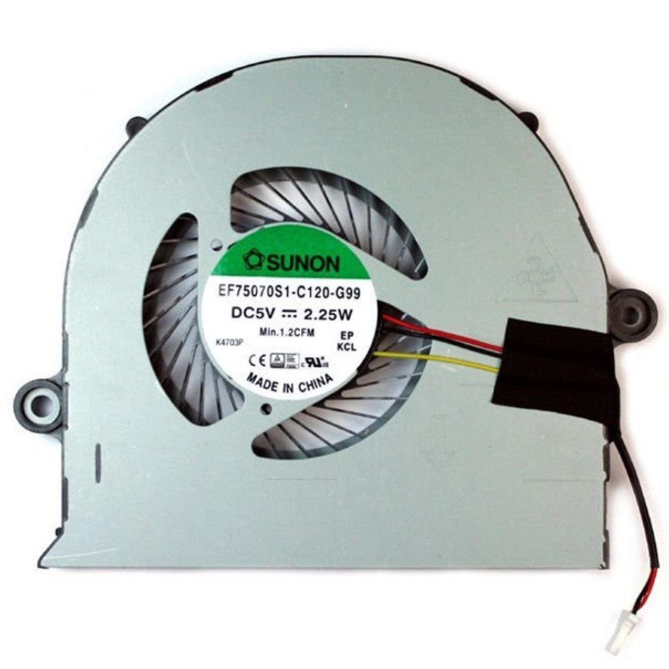Вентилатор за лаптоп, съвместим с Acer Aspire E5-572 T5000 в Резервни части -  | Alleop
