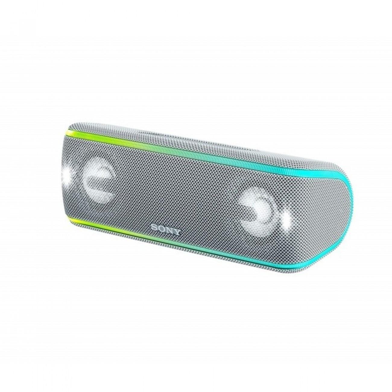 Тонколона Sony SRS-XB41, безжична, 2.0, Bluetooth, NFC, IP67, бяла в Колони -  | Alleop