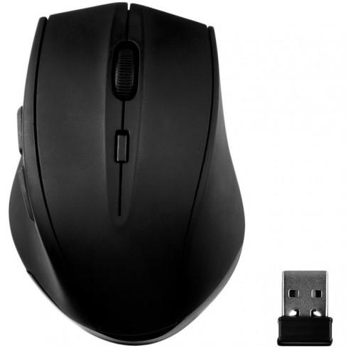 Мишка Speedlink CALADO Silent & Antibacterial Mouse, оптична (1600dpi), безжична, USB, черна в Мишки -    Alleop