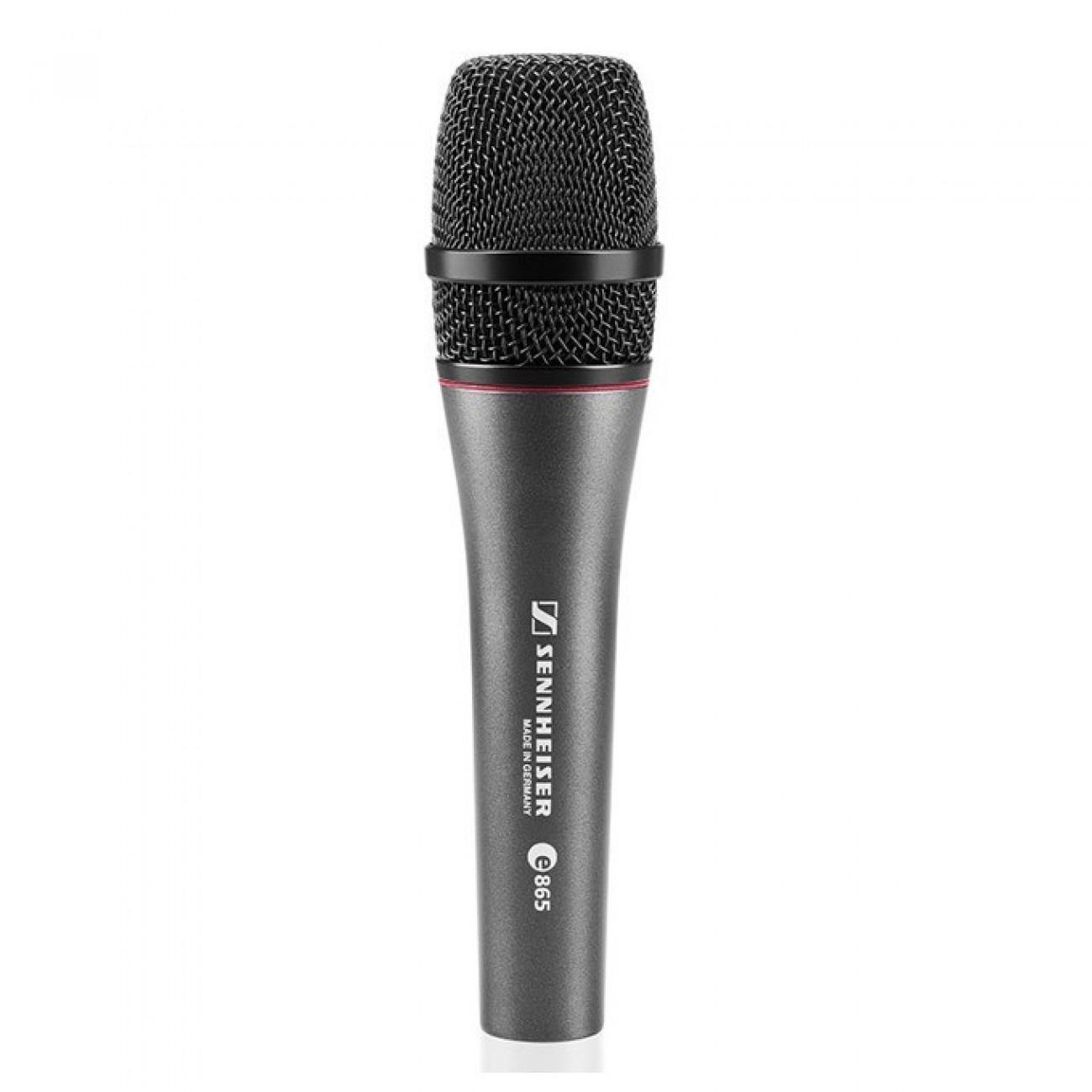 Микрофон Sennheiser E 865, вокален супер кардиоиден, 40-20kHz, XLR-3 конектор в Микрофони -  | Alleop