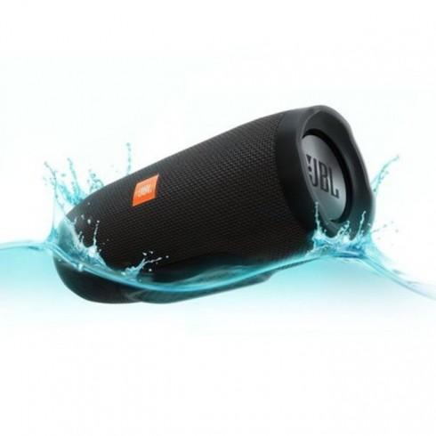 Тонколона JBL Charge 3, 2.0, RMS 20W(10W+10W), Bluetooth, черен, водонепромукаем, микрофон, LED индикатор в Колони -  | Alleop