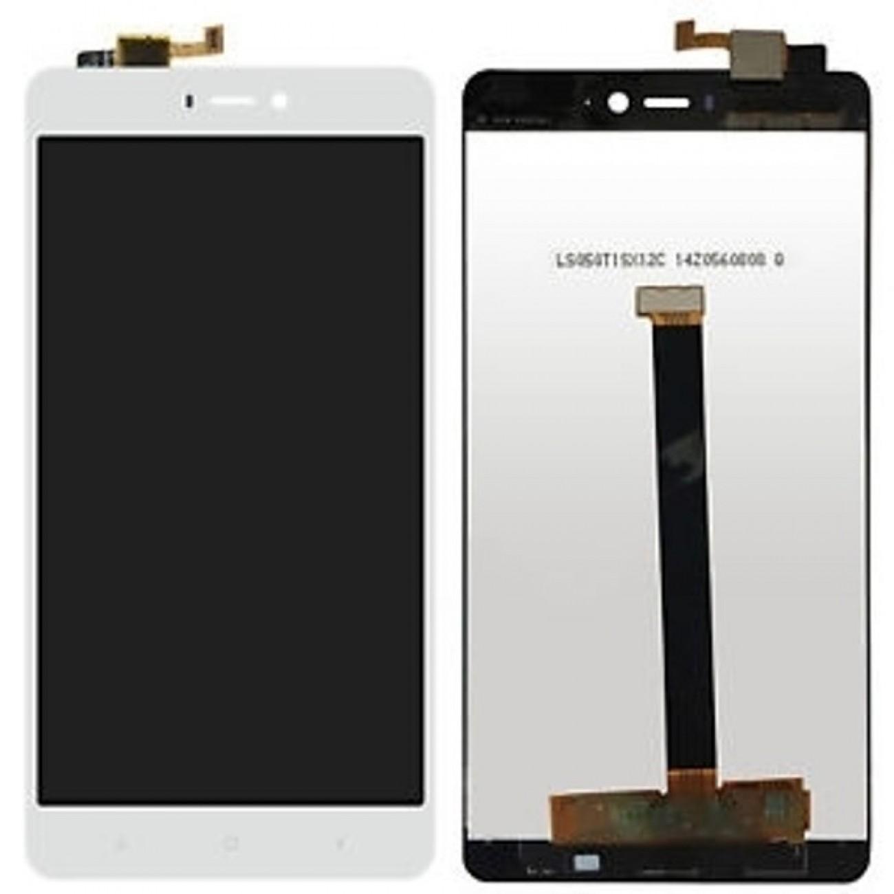 Дисплей за Xiaomi Mi 4s, LCD, с тъч бял в Резервни части -  | Alleop