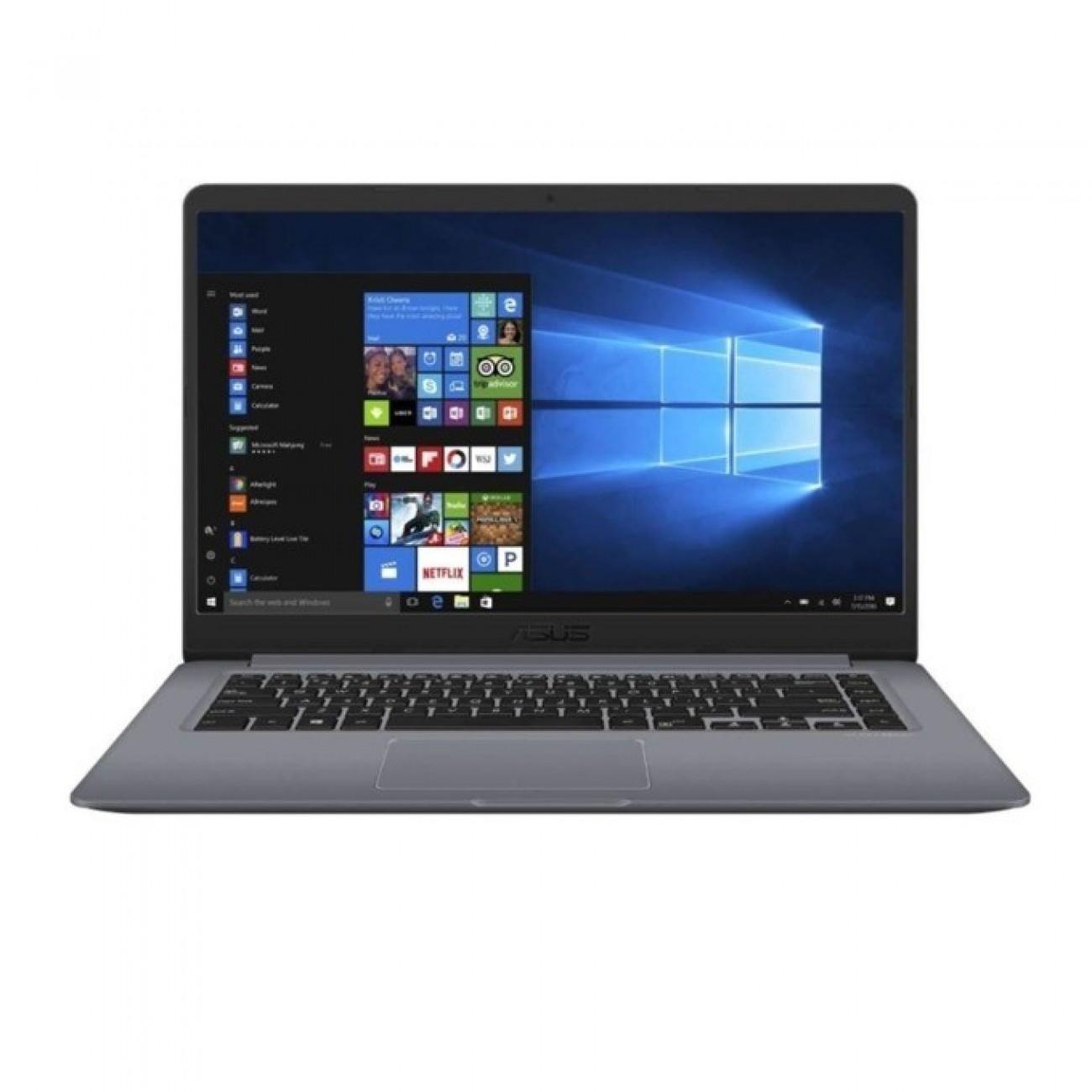 Лаптоп Asus X510UF-EJ045 (90NB0IK2-M04100)(сив), четириядрен Kaby Lake R Intel Core i7-8550U 1.8/4.0 GHz, 15.6 (39.62 cm) Full HD Anti-Glare Display&NVIDIA GeForce MX130 2GB(HDMI), 8GB DDR4, 1TB HDD, 1x USB 3.1 Type-C, Linux, 1.70 kg в Лаптопи -    Al