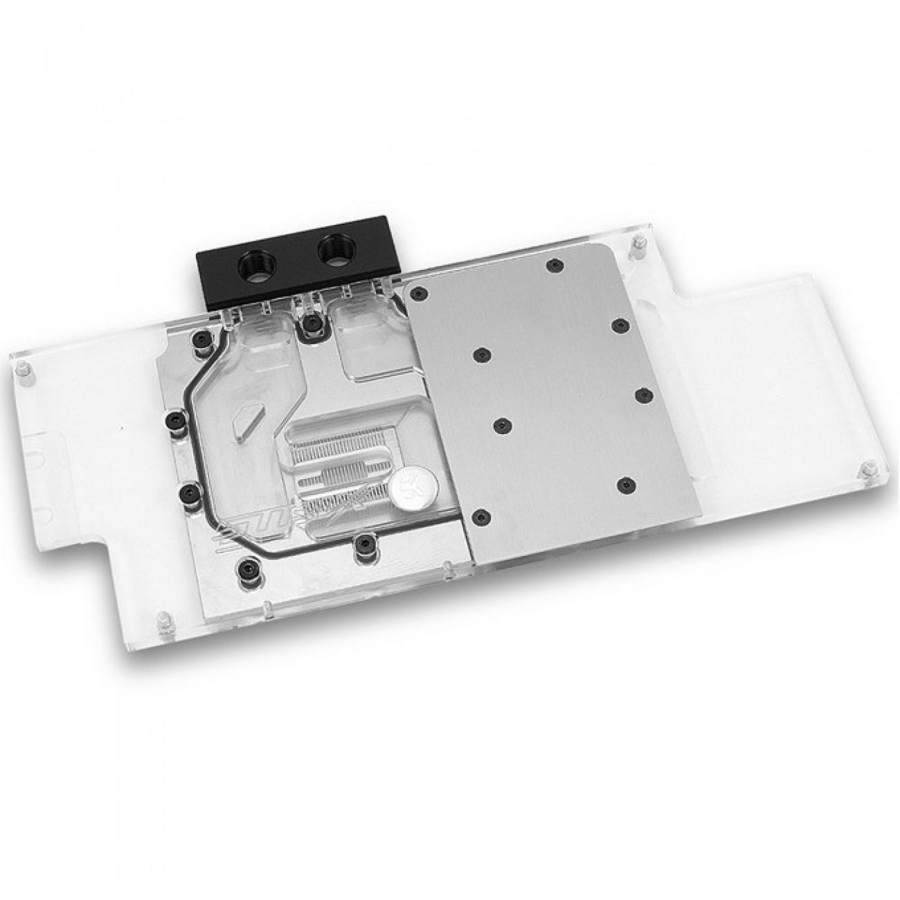 Воден блок за охлаждане на видео карти EKWB EK-FC1080 GTX Strix - Nickel, съвместим с ASUS design GeForce GTX 1080, 1070 and 1060 Strix series graphics cards в Вентилатори / Охладители -  | Alleop