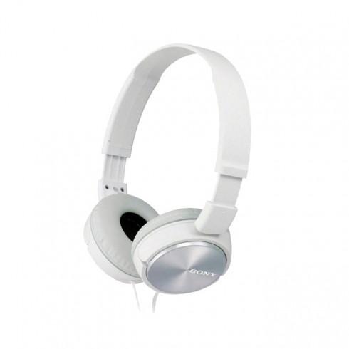 Слушалки Sony MDR-ZX310, бели в Слушалки -    Alleop