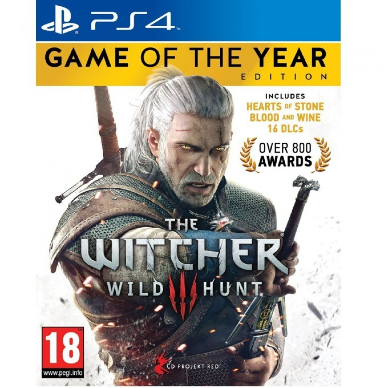 The Witcher 3: Wild Hunt Game Of The Year Edition, за PS4 в Игри за Конзоли -    Alleop