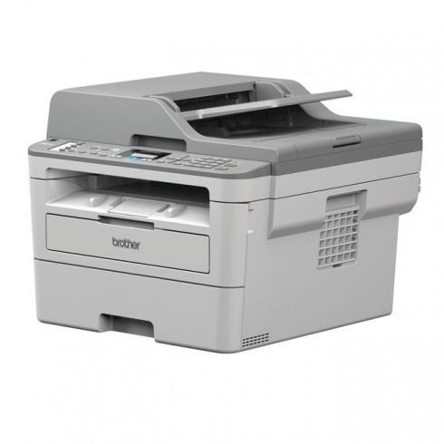 Мултифункционално лазерно устройство Brother MFC-B7715DW, монохромен принтер/копир/скенер/факс, 600 x 600 dpi, 34 стр/мин, Wi-Fi/Direct, LAN 100Base-TX, USB, ADF, двустранен печат, A4 в Мултифункционали и MFP -  | Alleop