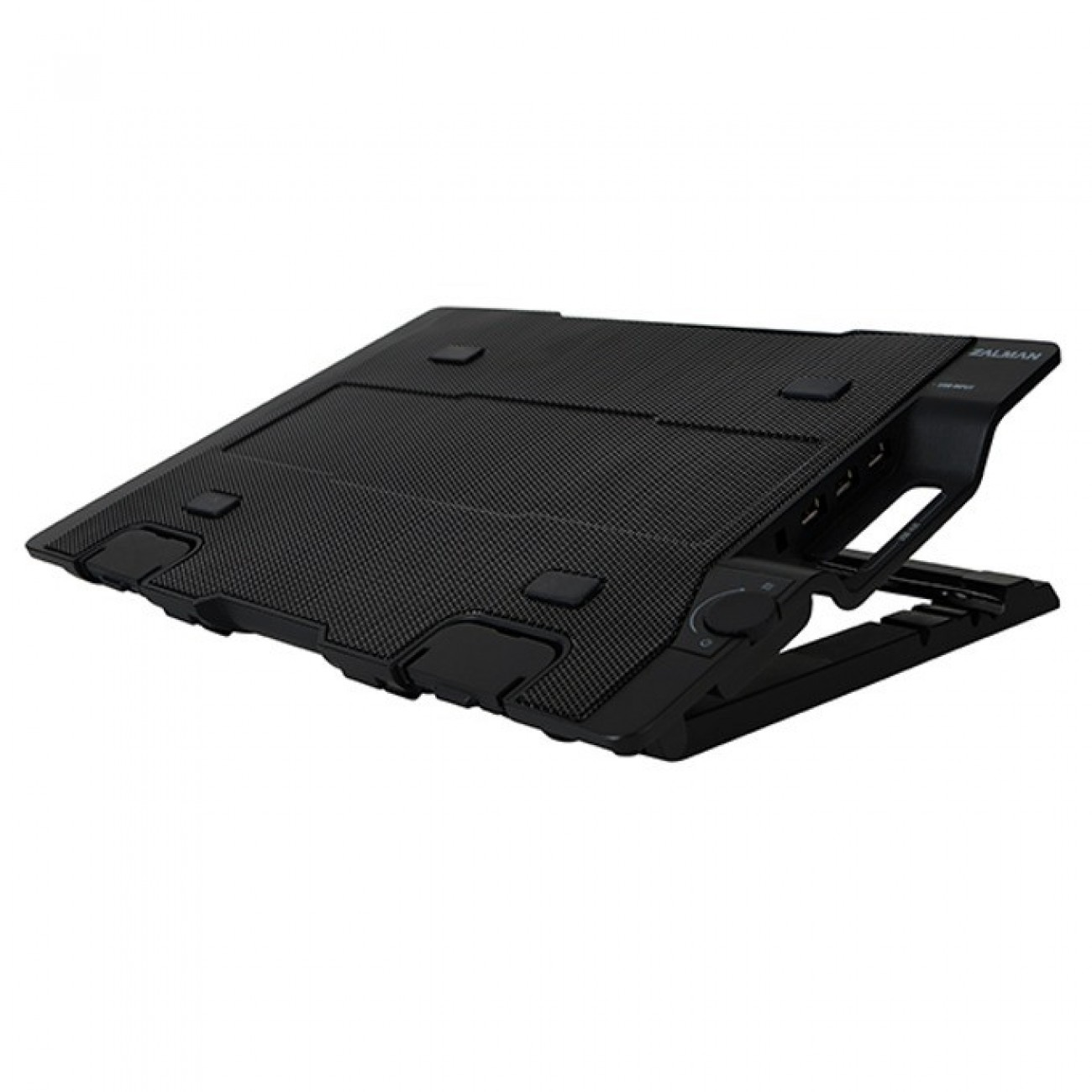 Охлаждаща поставка за лаптоп Zalman NS2000, за лаптопи до 17 (43.18 cm), черна в Лаптоп Охладители -  | Alleop