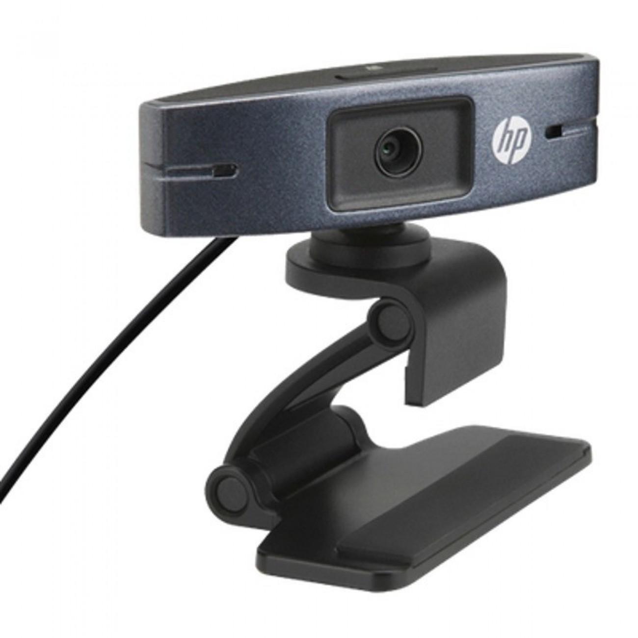 Уеб камера HP HD 2300, микрофон, HD 720p (1280 x 720), USB 2.0 high-speed в Уеб камери -  | Alleop