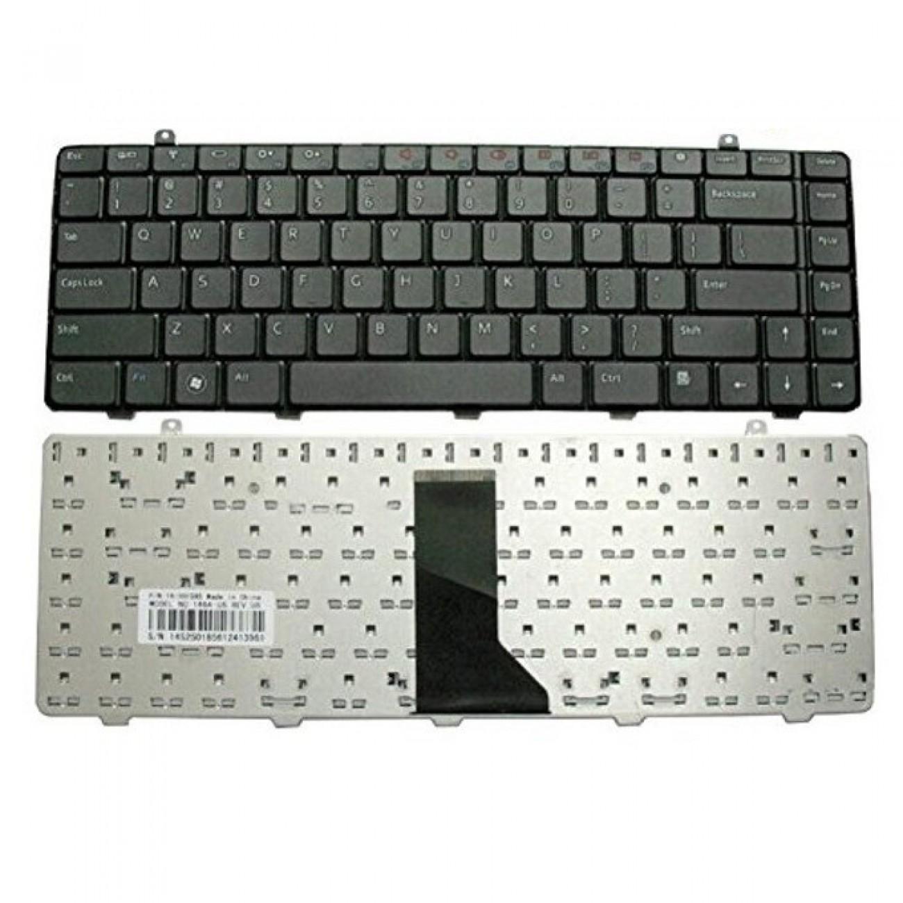 Клавиатура за лаптоп Dell, съвместима със серия Inspiron 1464, US/UK, с кирилица в Резервни части -  | Alleop