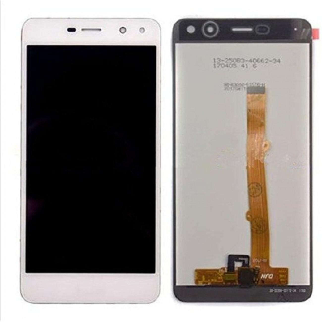 Дисплей за Huawei Y5 2017 / Y6 2017 LCD, с тъч, бял в Резервни части -    Alleop