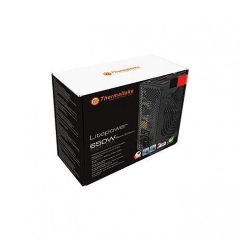 Захранване Thermaltake LitePower, 650W, Active PFC, 120mm в Захранвания Настолни компютри -  | Alleop