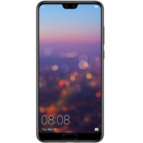 Huawei P20 Pro, тъмно син, Dual SIM, 6.1 FHD 2244x1080, Kirin 970 Octa-core+ i7 co-processor(4x2.36GHz Cortex A73&4x1.8 GHz Cortex-A53), 6GB RAM, 128GB вградена памет, тройна камера leica 40MP+20MP+ 8MP+24MP предна камера, Android 8.1, WiFi 802.11ac в