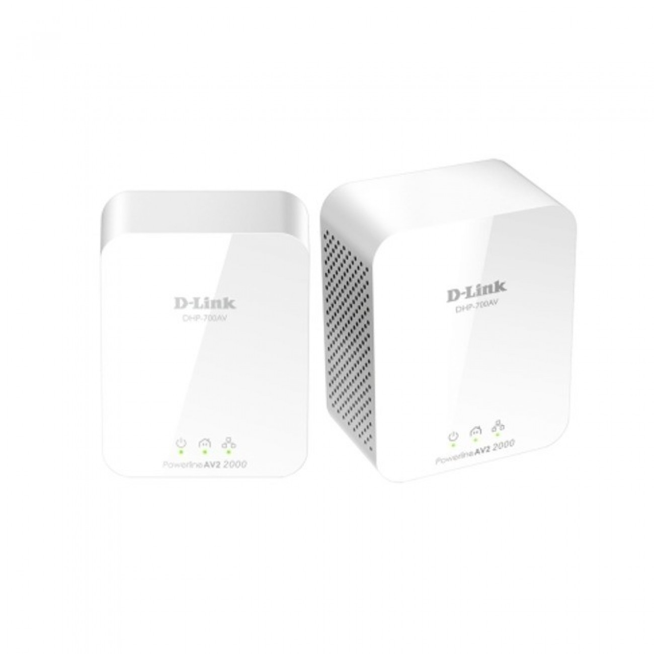 Powerline адаптер D-Link PowerLine AV2 2000 HD Gigabit Starter Kit, 1900Mbps, 1x LAN1000, 2 устройства в Powerline мрежи -  | Alleop