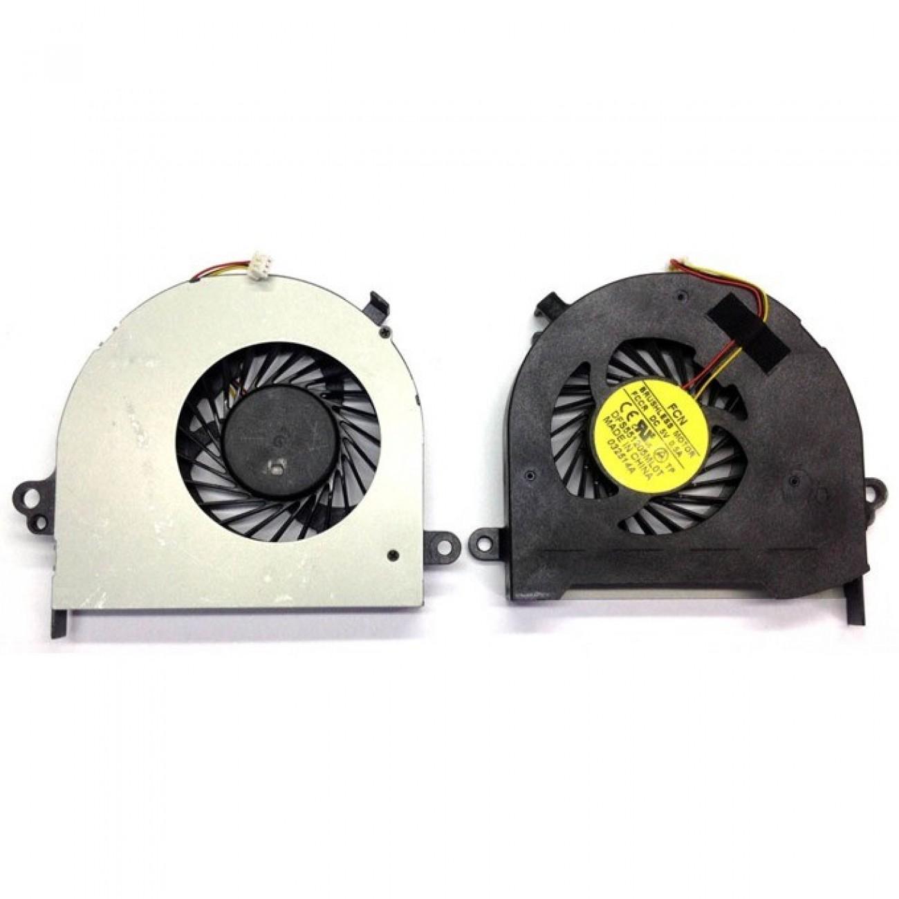 Вентилатор за лаптоп, съвместим с Toshiba Satellite C70 C70D C75 C75D L75 L75D в Резервни части -  | Alleop