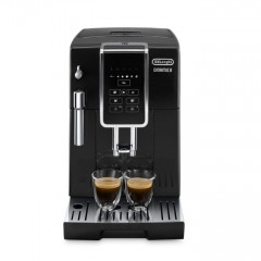 Автоматична еспресо кафемашинa Delonghi Dinamica ECAM 350.15.B, 1450 W, 15 bar, Touch контрол, програма за отстраняване на котлен камък, черна