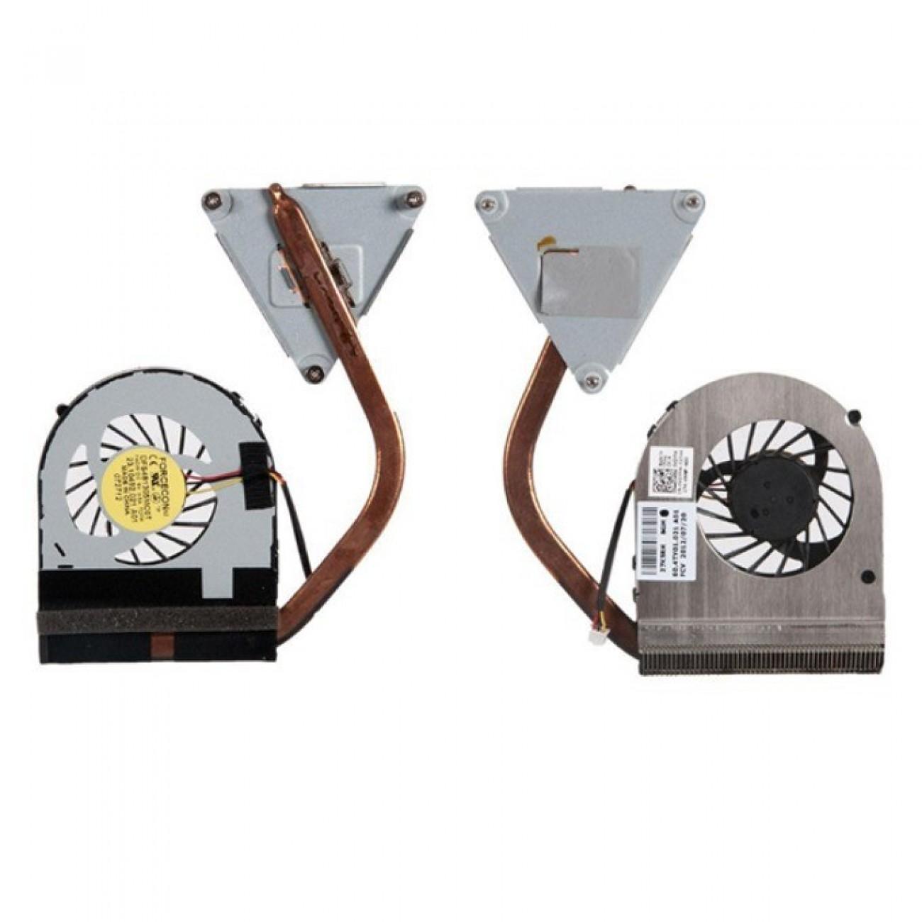 Вентилатор + HeatSink за лаптоп, съвместим с Dell Inspiron N4050 в Резервни части -  | Alleop