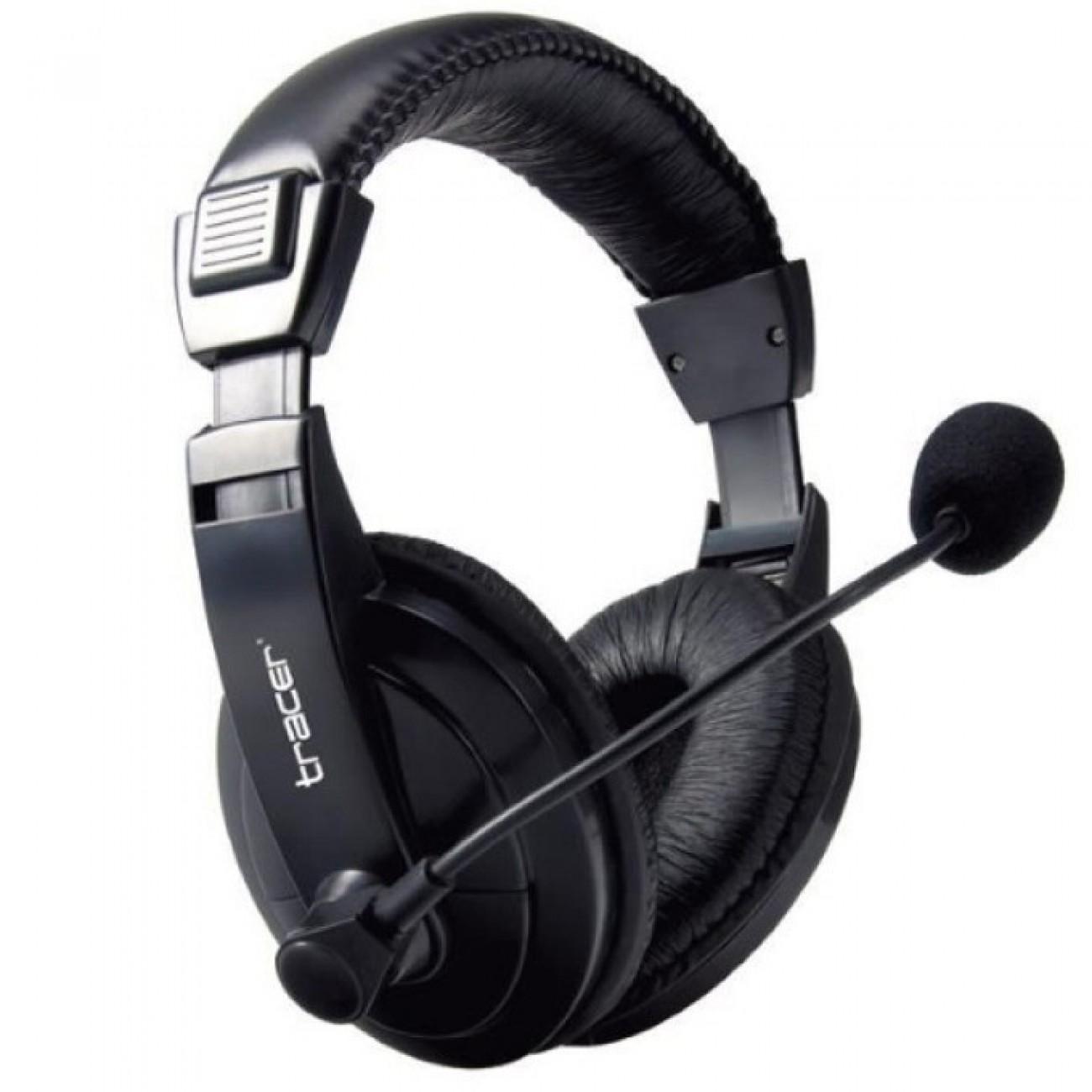 Слушалки Tracer Explode TRASLU43289, микрофон, 20Hz - 20kHz честотен обхват, черни в Слушалки -    Alleop